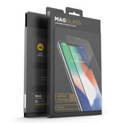 iPhone XS Max Full Coverage Tempered Glass Screen Protector, Magglass Edge