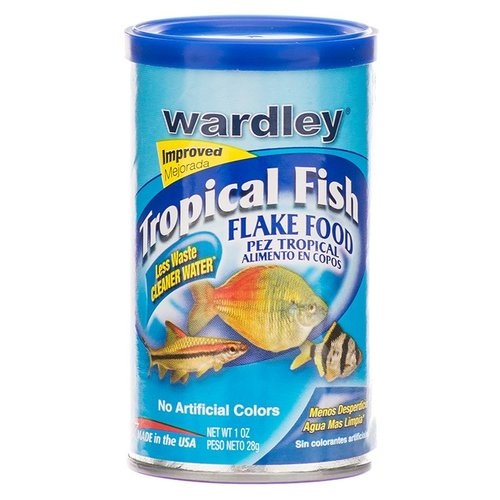 Wardley Tropical Fish Flake Food 1 Ounce