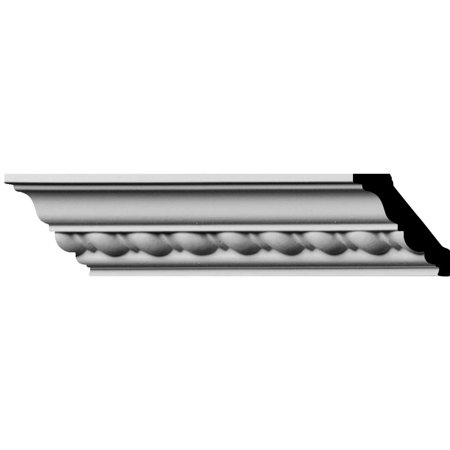 "1 7/8""H x 1 7/8""P x 2 3/4""F x 94 1/2""L, (1"" Repeat) Classic Roped Crown Moulding"