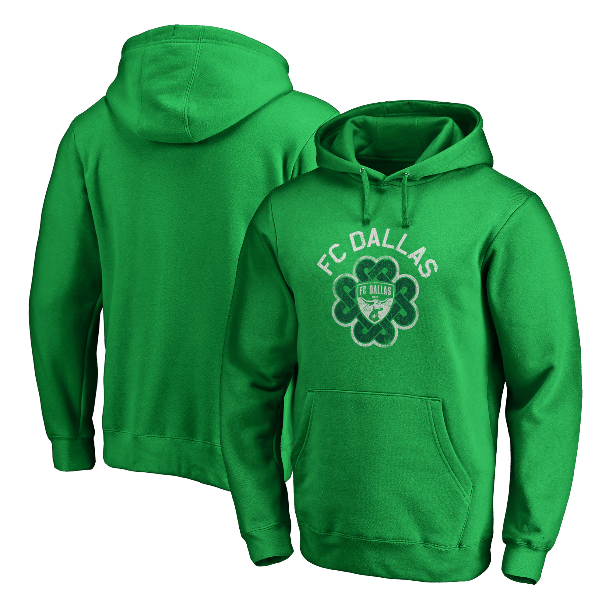 FC Dallas Fanatics Branded St. Patrick's Day Luck Tradition Pullover Hoodie - Kelly Green