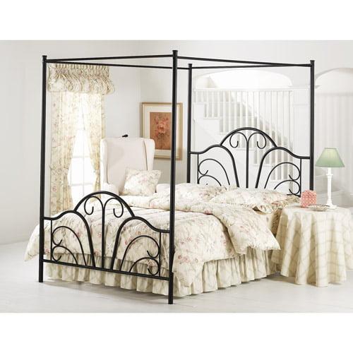 Dover King Bed, Black
