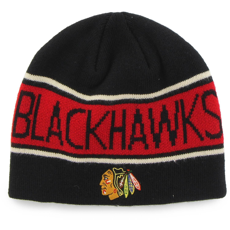 NHL Chicago Blackhawks Bonneville Knit Beanie by Fan Favorite by Overstock