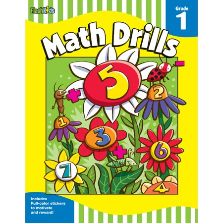 Math Drills: Grade 1 (Flash Skills)