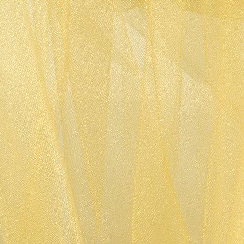 Mandel Sparkle Tulle Gold