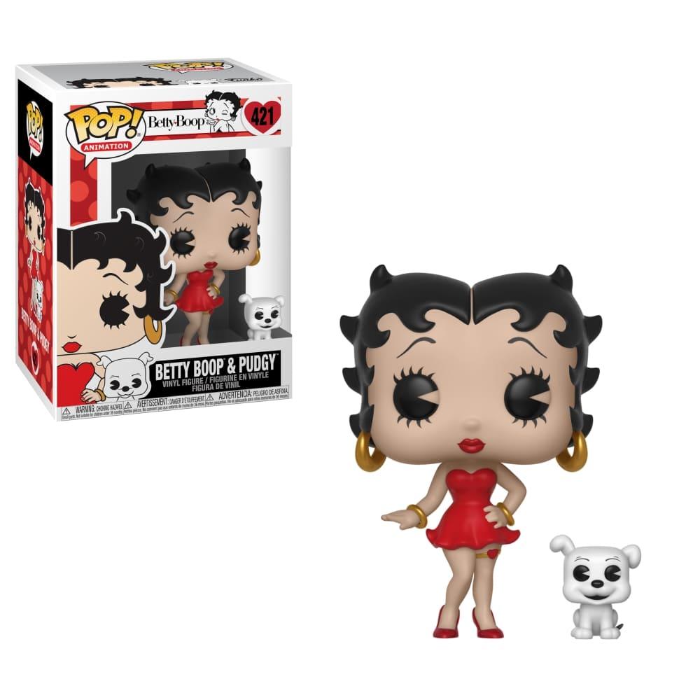 Funko Pop! Betty Boop - Betty with Pudgy