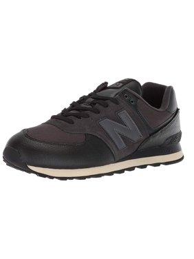 8c7c74a6cc914 Product Image New Balance ML574LHF: Men's Iconic 574 Black/Black Sneaker