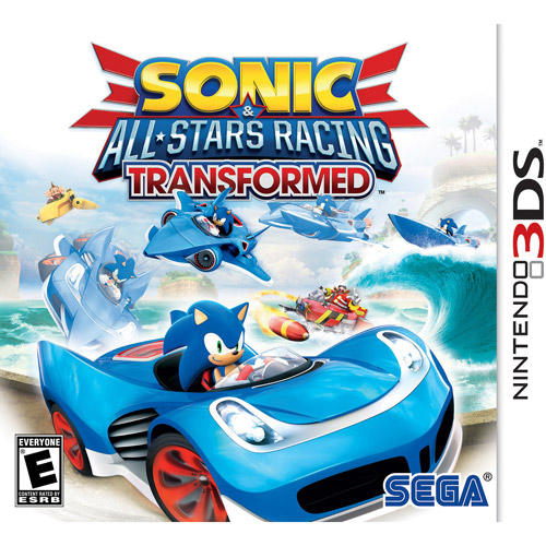 Sonic All Stars Racing Transformed (Nintendo 3DS)