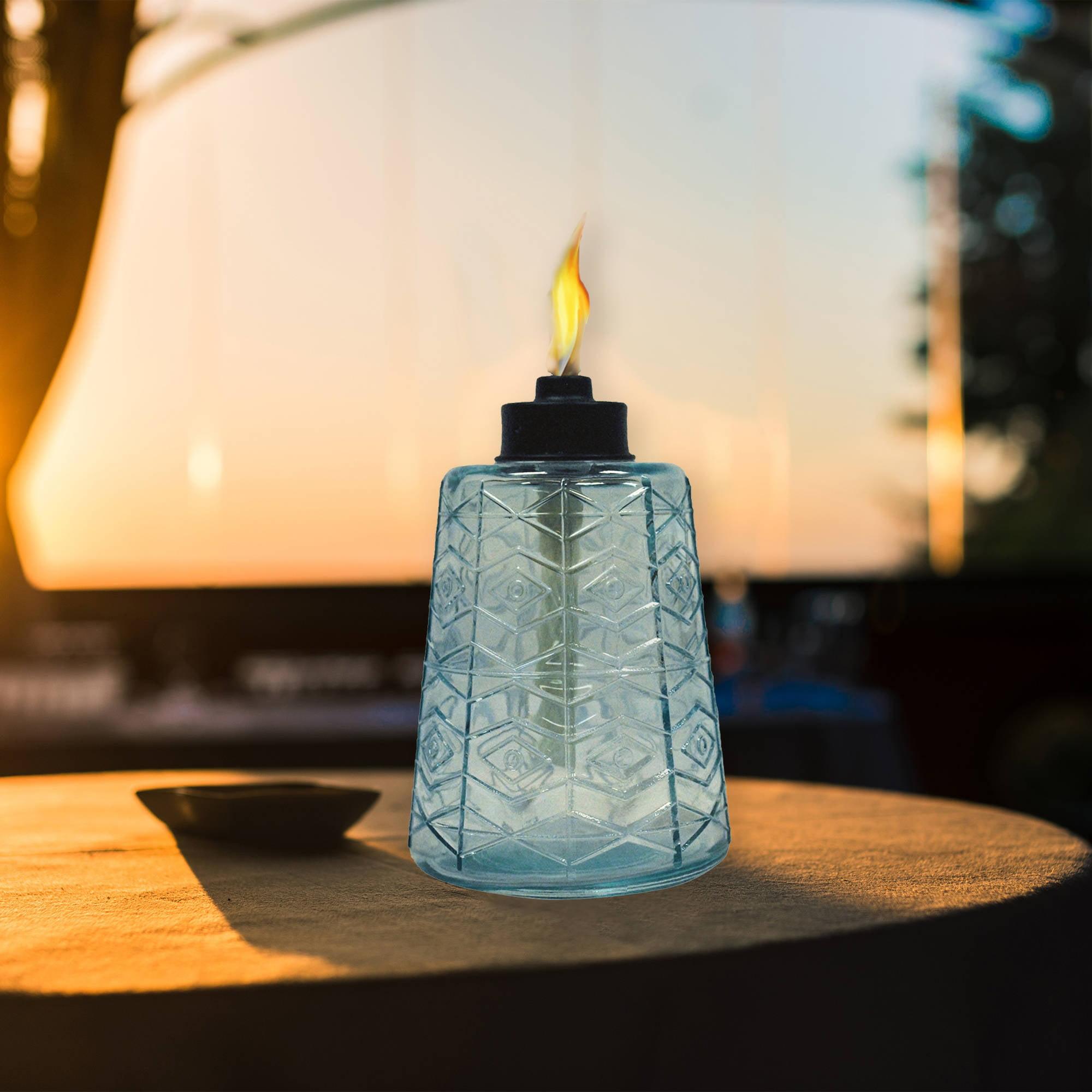 Superieur Tikiâ® Glass Tabletop Torch   Walmart.com