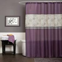 Product Image Covina Purple Shower Curtain