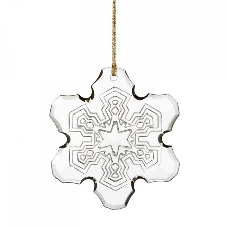 - Waterford Marquis Annual Snowflake Glass Christmas Ornament