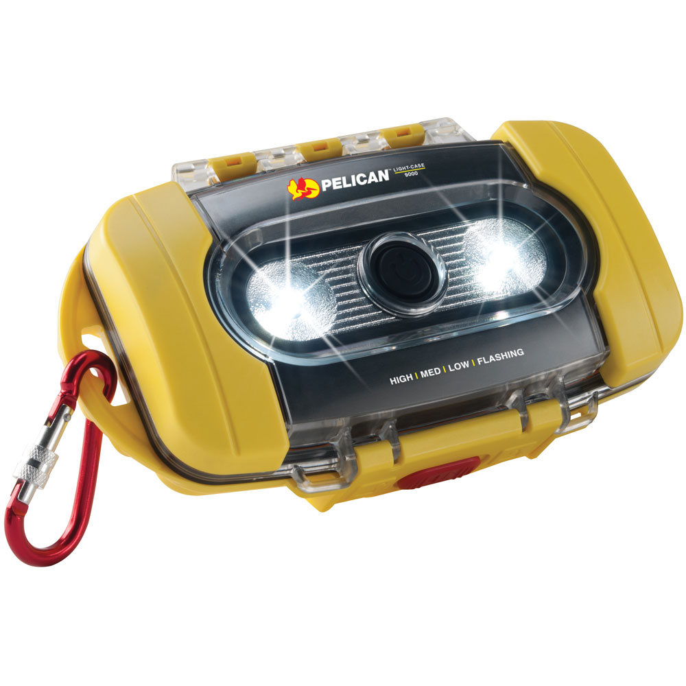 Pelican 090000-0100-245 200-Lumen ProGear 9000 Light-Case System, High-Visibility Yellow