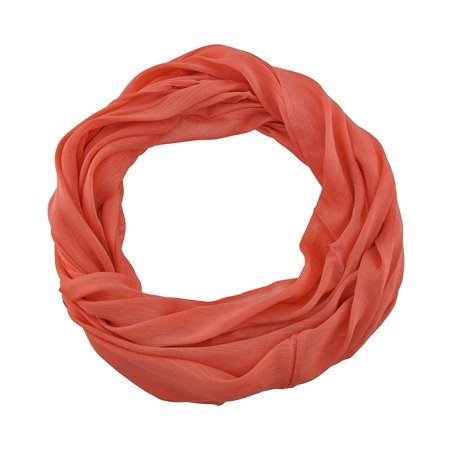 Lightweight Solid Color Rayon Infinity Scarf