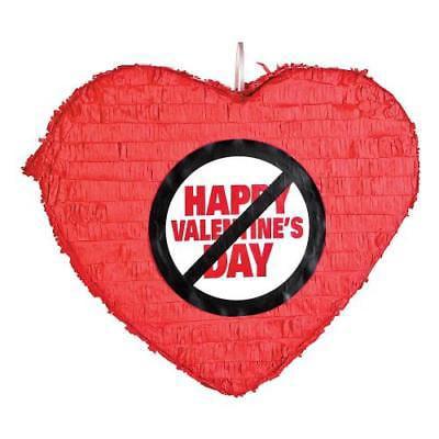 IN-13627624 Anti-Valentine's Day Heart PiNata 1 Piece(s)