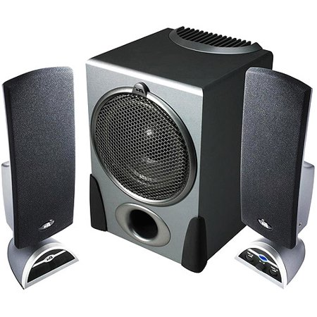Cyber Acoustics 2.1 Speaker System (3-Piece) Black Ca3550