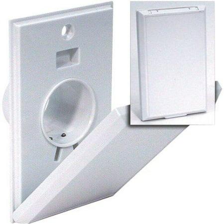 Hayden Canplas 2000WH Inlet Valve-Full Door-White