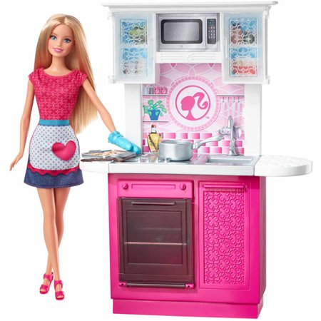 Barbie Kitchen Set Games