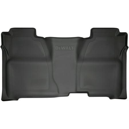 DeWalt DXTAFL010 Black 2nd Seat Floor Liner Fits 14-18 Silverado/Sierra Crew Cab, 2019 Silverado LD/Sierra Limited 1500 Crew - Dewalt Full Range