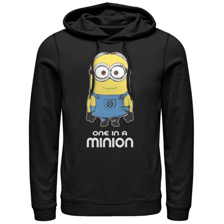 Despicable Me Men's One in Minion Hoodie](Minion Hoodie)