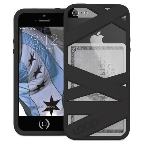 Loop LOOP3BLK Mummy Case for iPhone 5/5S, Black