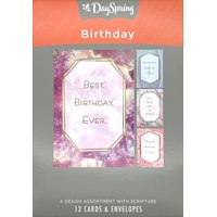 Birthday - Inspirational Boxed Cards - Marble & Geodes