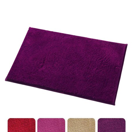 Peachy Mayshine Soft Bathroom Rugs Shag Absorbent Bath Mat Non Slip Home Interior And Landscaping Ologienasavecom
