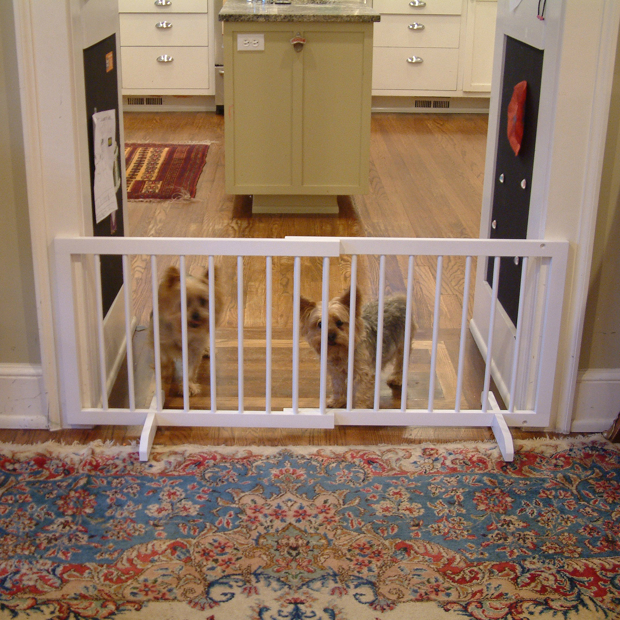 "Cardinal Gates Step Over Pet Gate 28"" to 51.75"" wide x 20"" tall"