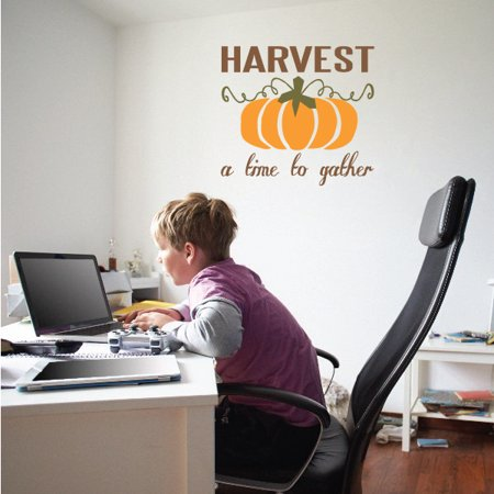 Harvest a Time to Gather Wall Decal Vinyl Decal Car Decal Vdcolor006 2
