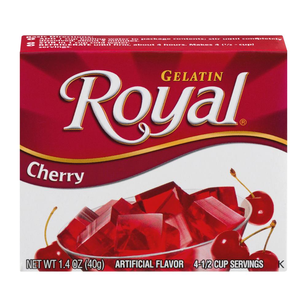 Royal Cherry Gelatin, 1.4 oz