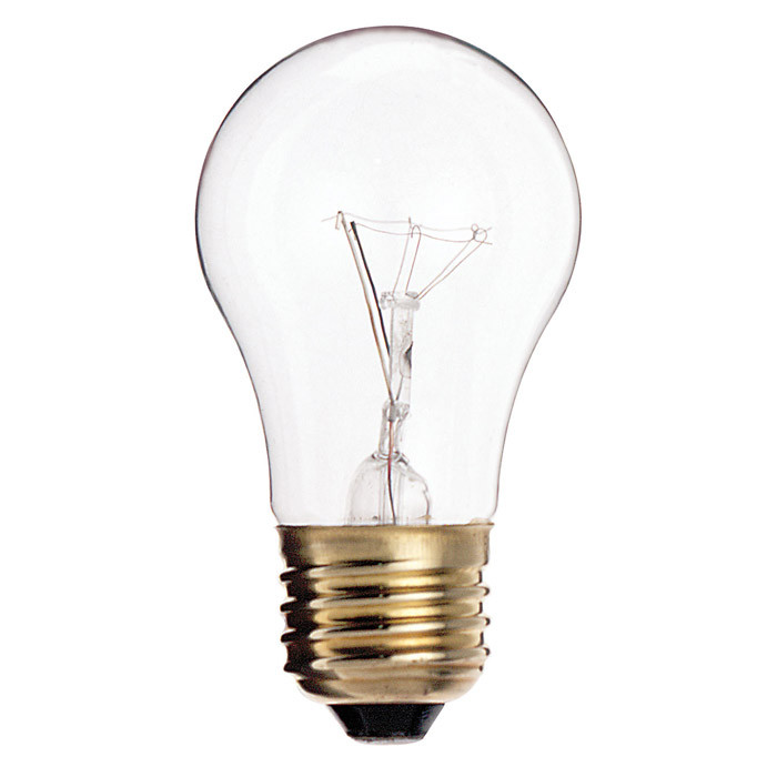 Satco S3870 60W 130V A15 Clear E26 Medium Base Incandescent light ...