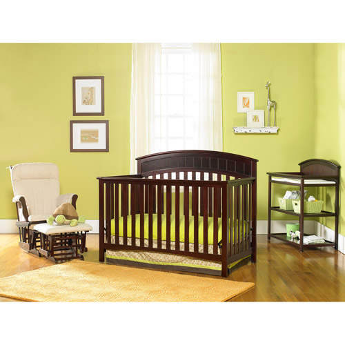 Graco - Charleston 4-in-1 Convertible Classic Crib, Classic Cherry