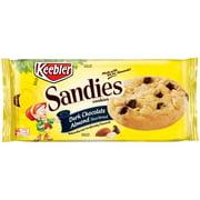 Keebler Sandies Dark Chocolate Almond Shortbread Cookies, 11.3 Oz.