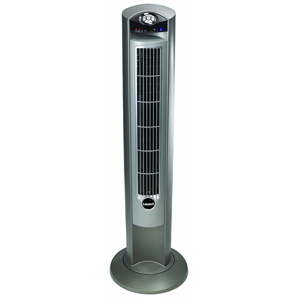 Lasko 2551 42 Wind Curve Platinum Cooling Fan by