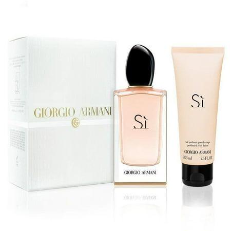 Giorgio Armani Si Travel Exclusive 2-Piece Perfume for Women Set