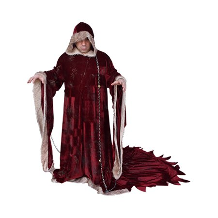 Mens Krampusnacht Krampus Robe Costume One Size