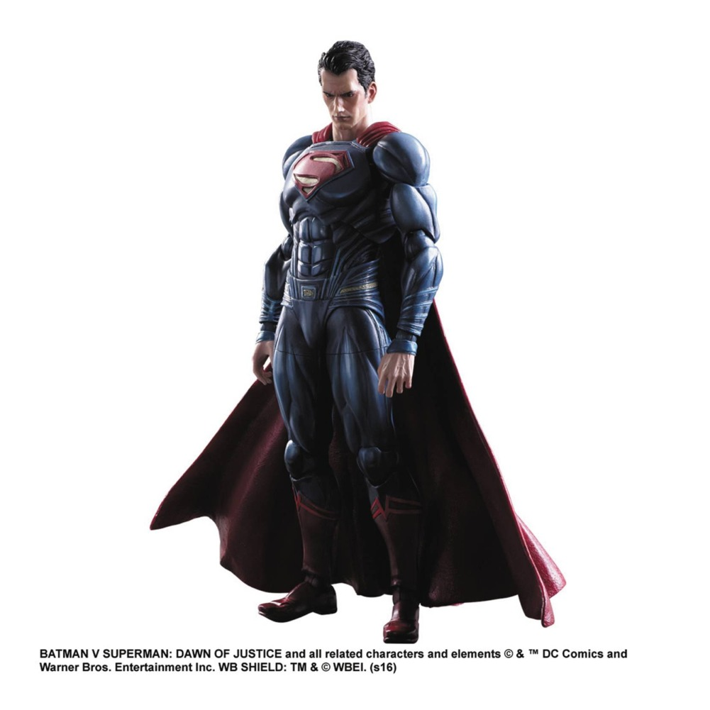 Square Enix DC Comics Batman vs Superman Dawn of Justice Superman Play Arts Kai Action Figure