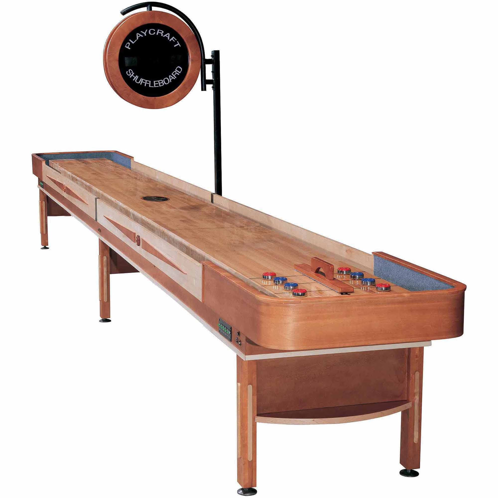 Playcraft Telluride Honey 14' Shuffleboard Table