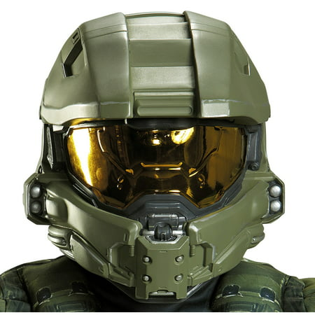 Halo: Master Chief Child Full Helmet (Master Chief Gloves)