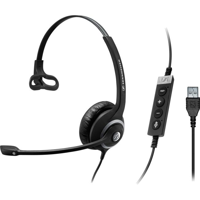 Sennheiser Circle SC 230 USB MS II Single-Sided Wired Headset w/ In-Line Control