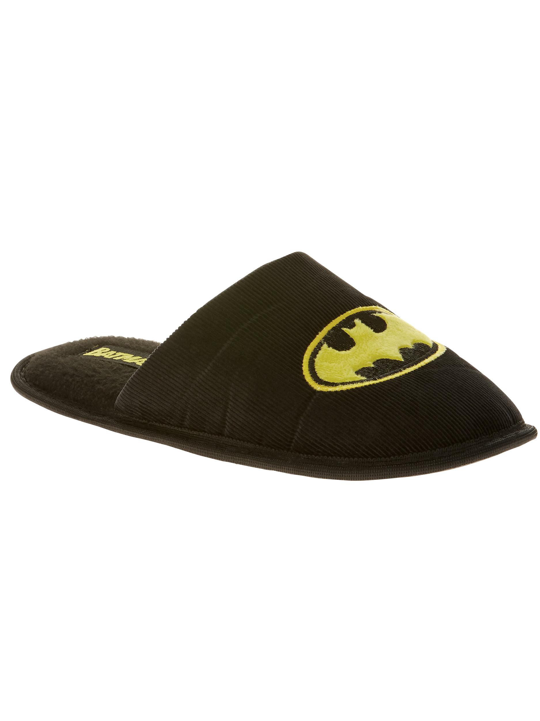 Batman Men's Embroidered Scuff Slipper