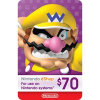 eCash - Nintendo eShop Gift Card $70 (Digital Download)