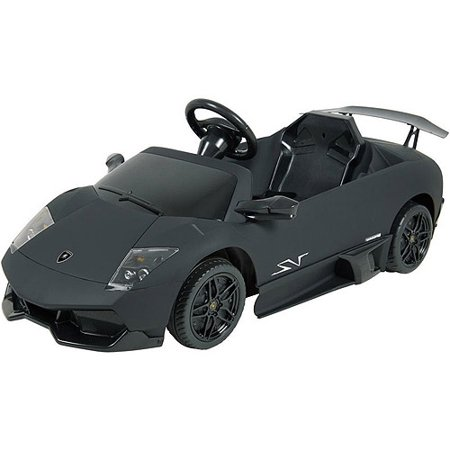 Kalee 12V Lamborghini Murcielago Ride On Car  Flat Black