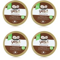 Yes To Coconut Hydrate & Restore Head-to-toe Restoring Balm, 3 Oz (Pack of 4)