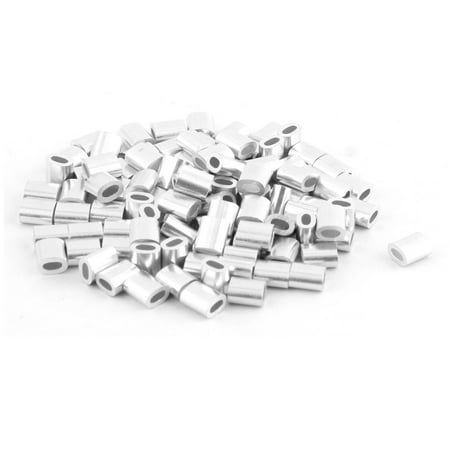 Aluminum Oval Ferrules Sleeves 6 x 4mm for 0.07