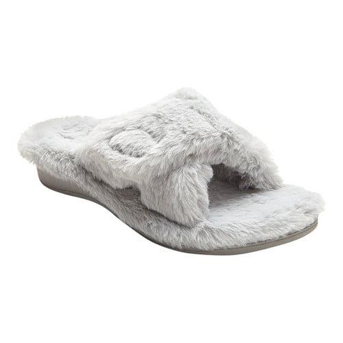 vionic open toe slippers