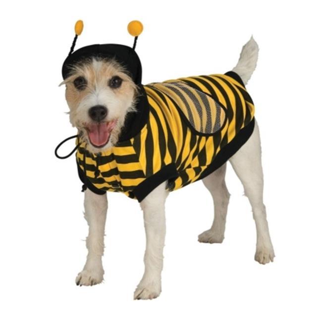 Pet Bumblebee Costume Large