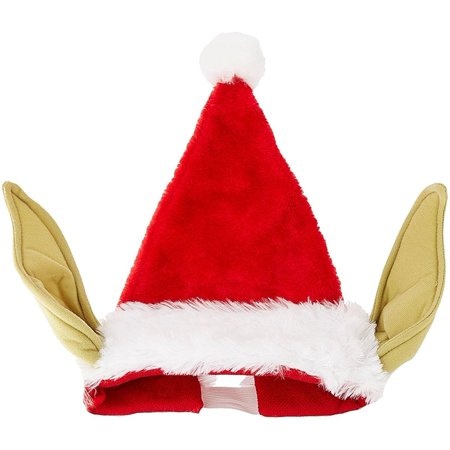 5562541f5cd4f Star Wars Yoda Santa Hat With Bendable Ears - image 1 of 1 ...