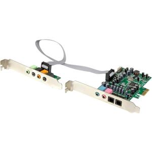 StarTech.com 7.1 Channel Sound Card - PCI Express - 24-bi...