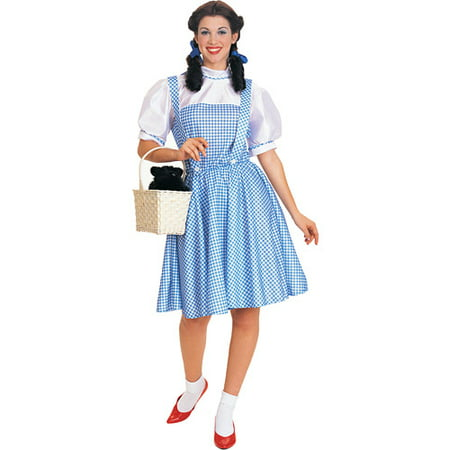 Classic Dorothy Adult Halloween Costume M - M & M Costumes For Adults