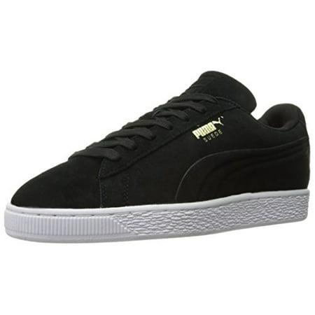 Puma 361097-04 : Suede Classic Sneakers Debossed Q3 Mens Puma Black (9 D(M) US Mens, Puma Black) ()