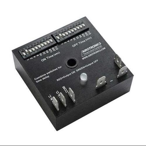 AIROTRONICS TGKAD71023/1023EE1HS Encapsulated Timer Relay, 1023 sec, 5 Pin